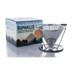 Buphallo Stainless Steel Cone Filter