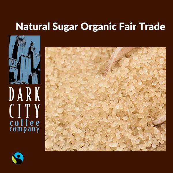 Natural Sugar Organic Fair Trade